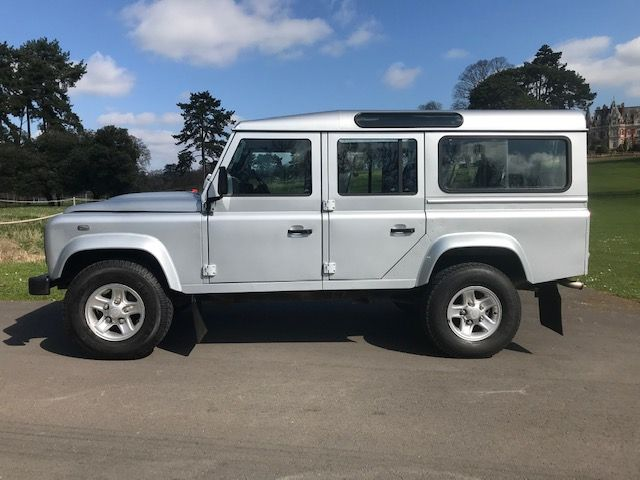 SOLD Land Rover Defender 110 XS Station Wagon 2 4 TDCi 2007